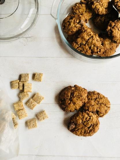 Shredded wheat cookies 2