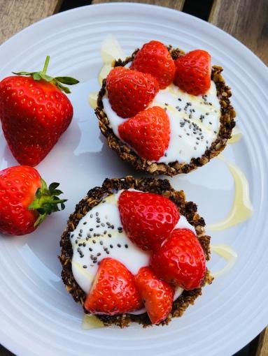 Tartelettes Granola fraises 2